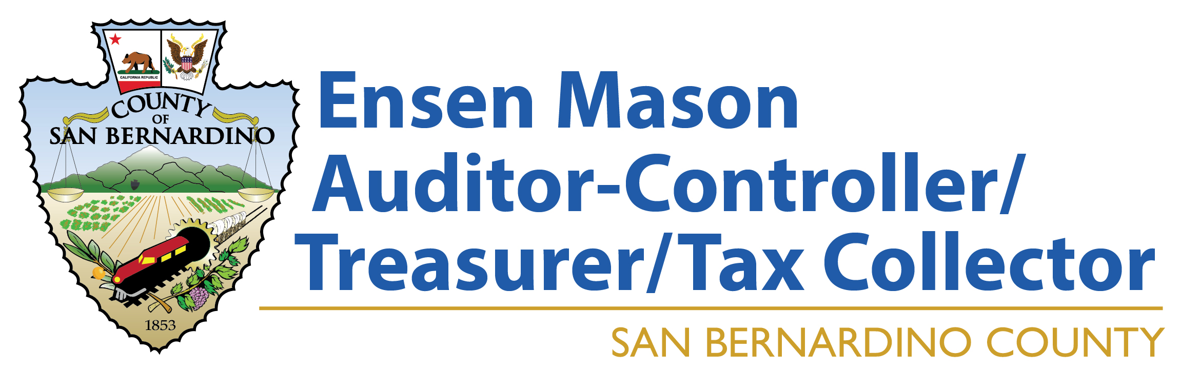 Ensen Mason Tax Collector Logo