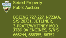 Seized Property Public Auction
